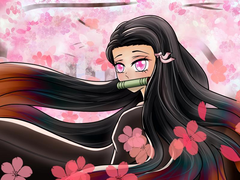 Nezuko/DemonSlayer   ❤FanArt❤ Illust of JeeAreAy DemonSlayerFanartContest KamadoNezuko iPad_raffle jumppaint