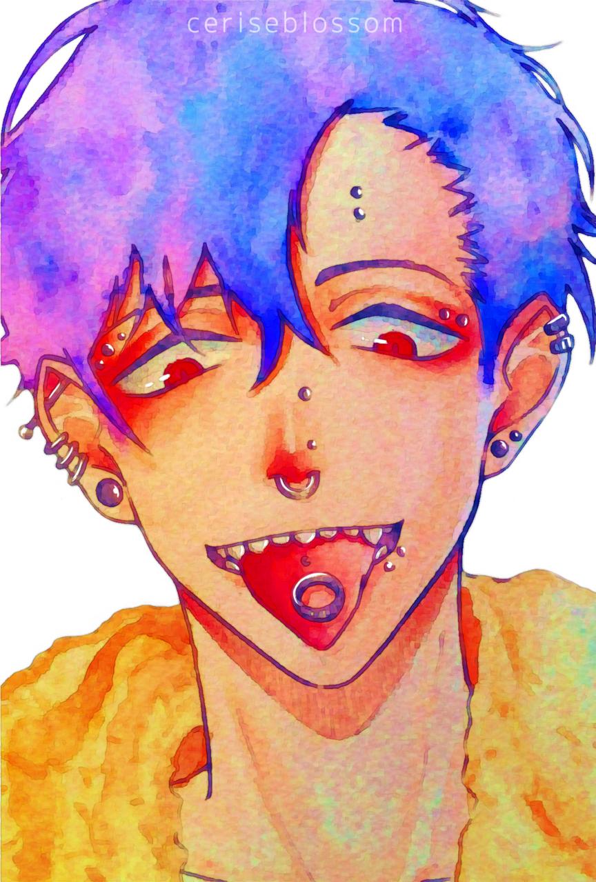 Ring Illust of ceriseblossom medibangpaint anime ring oc original animeboy