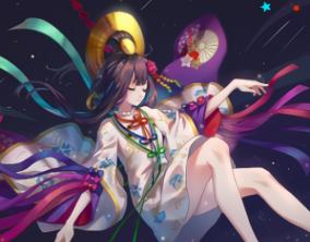 阴阳师 Illust of ^元気の珃颜_♡ February2021_Fantasy girl ꕥ᭄不亏不欠丫ꦿঞ anime
