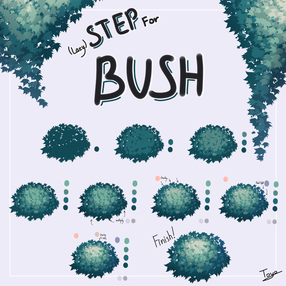 Bush/十四   TOYO