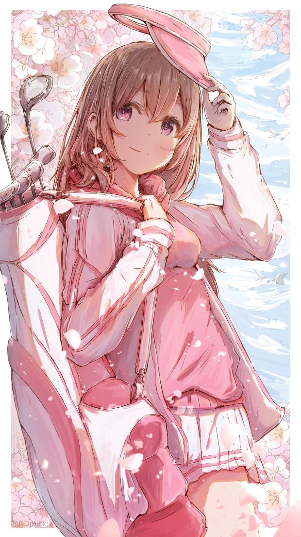 春風❀ Illust of みずき@ミッキー ARTstreet_Ranking original 女子高生 ゴルフ 春