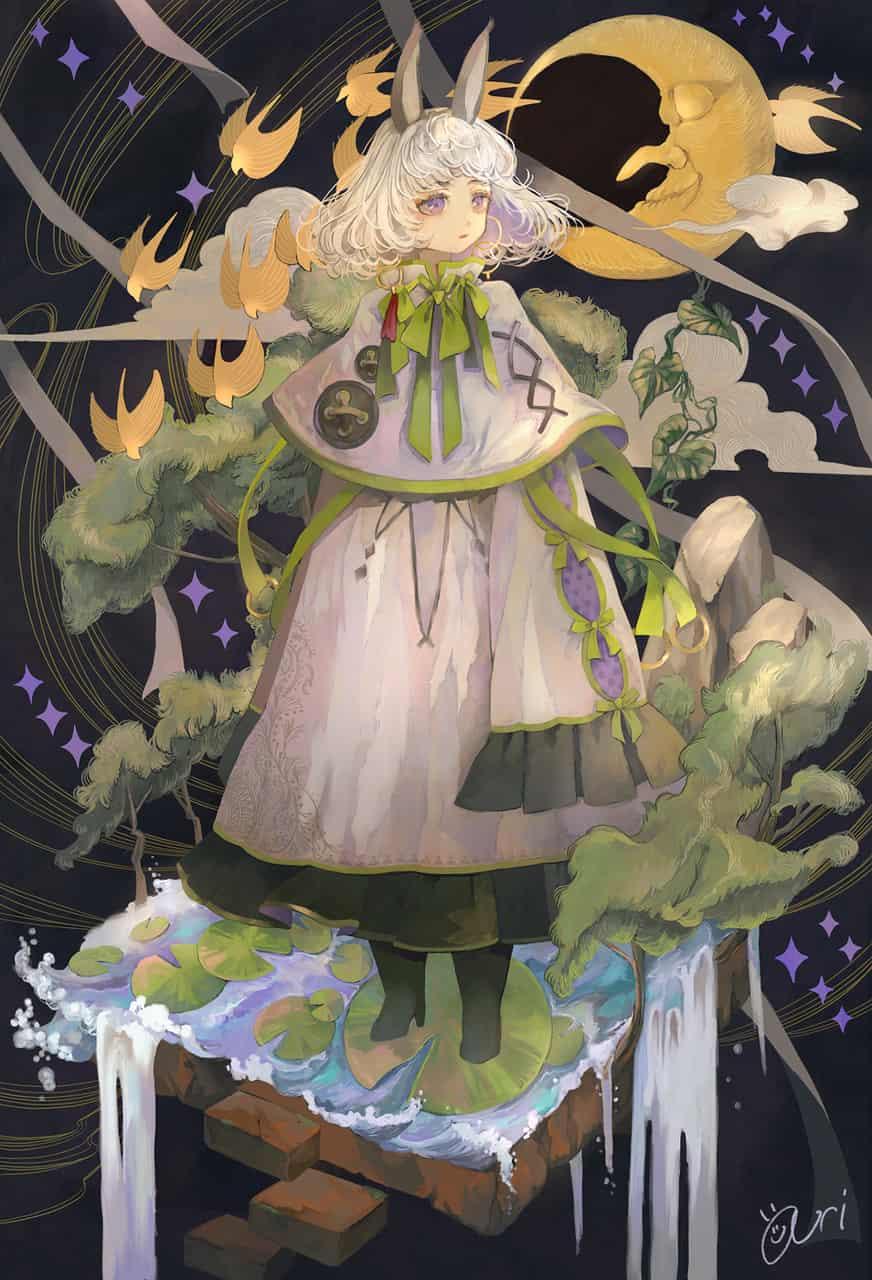 夜の散歩 Illust of あり original ファンタジー風