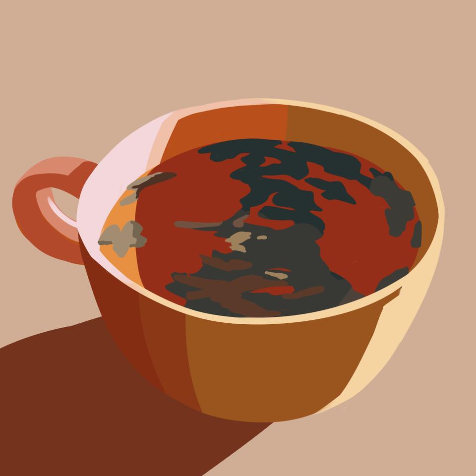 morning tea Illust of cute medibangpaint