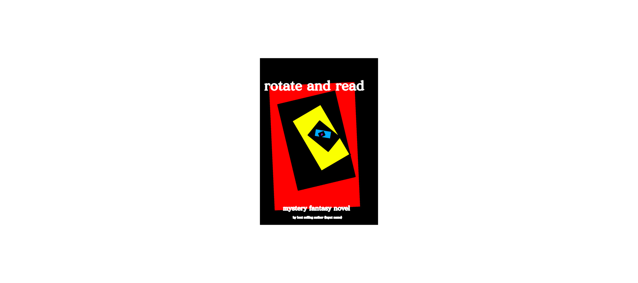 Rotate and read cover Illust of Lookimapro Spinning_contest medibangpaint