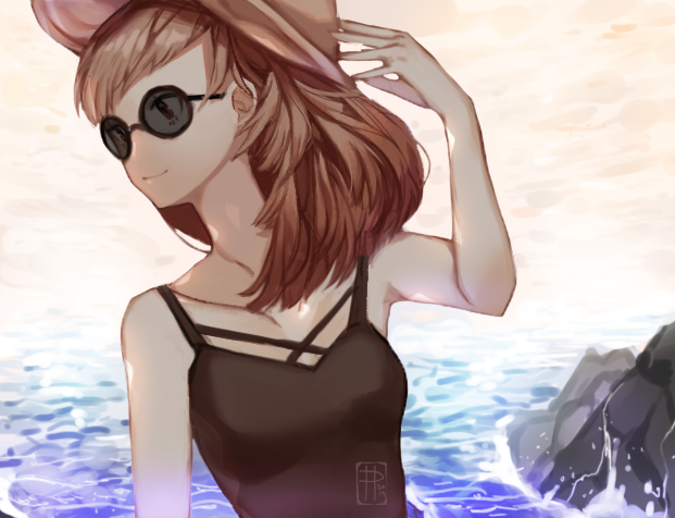 #summer #beach #animesummer