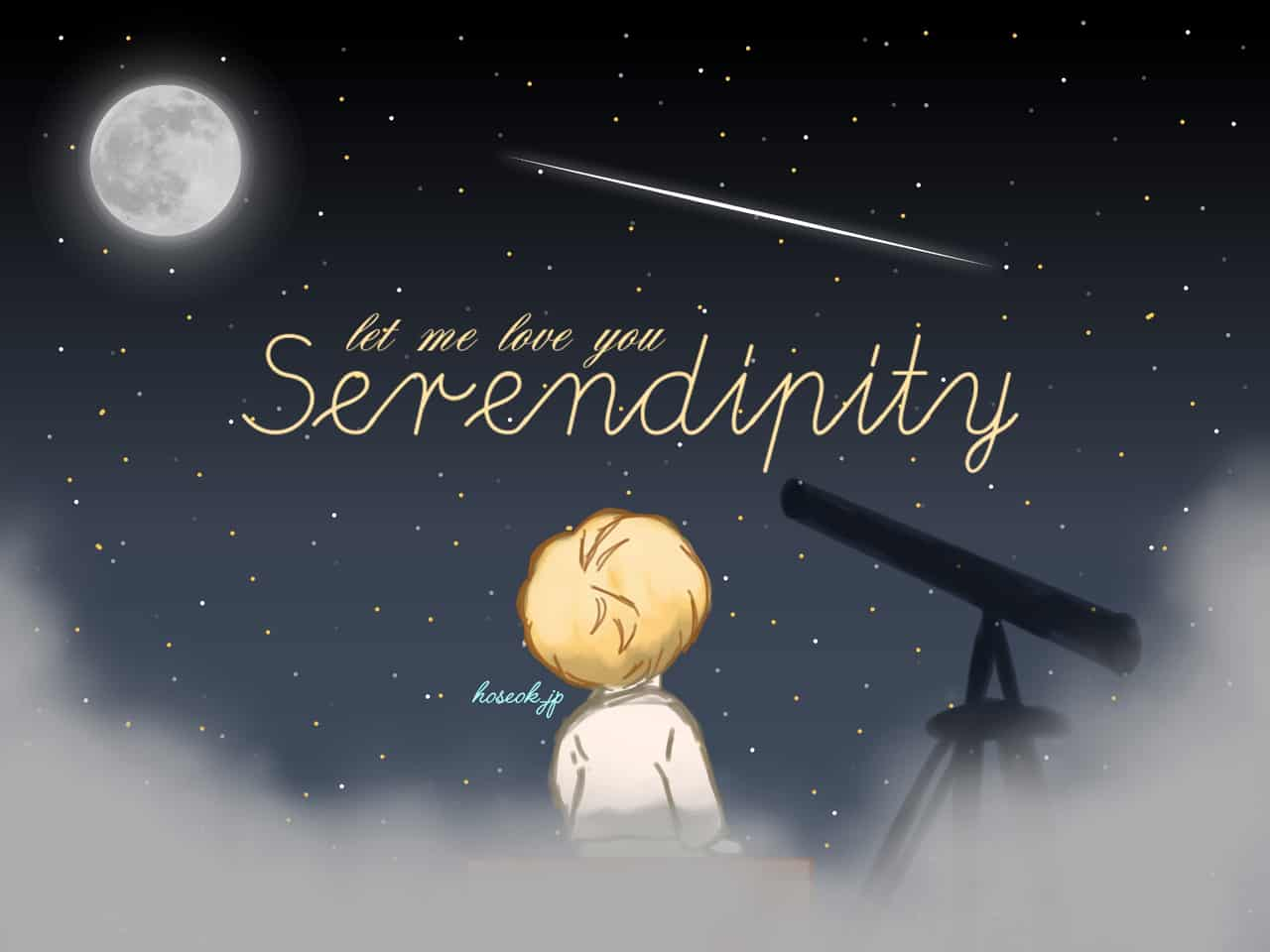 new version] serendipity - jimin - taeleporting | Illustrations