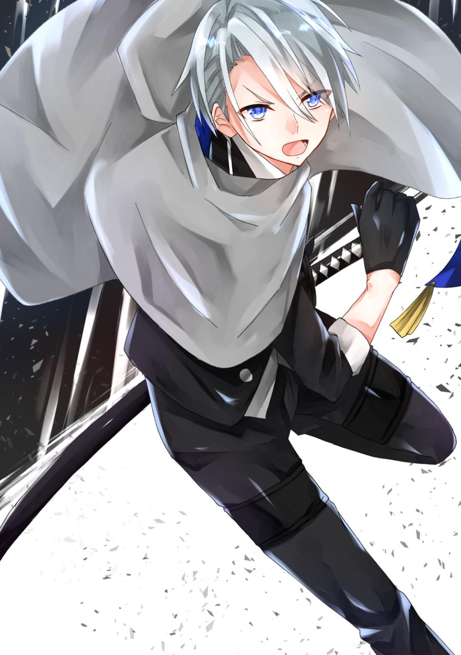 戦闘開始! Illust of 甘音 Touken_Ranbu 山姥切長義