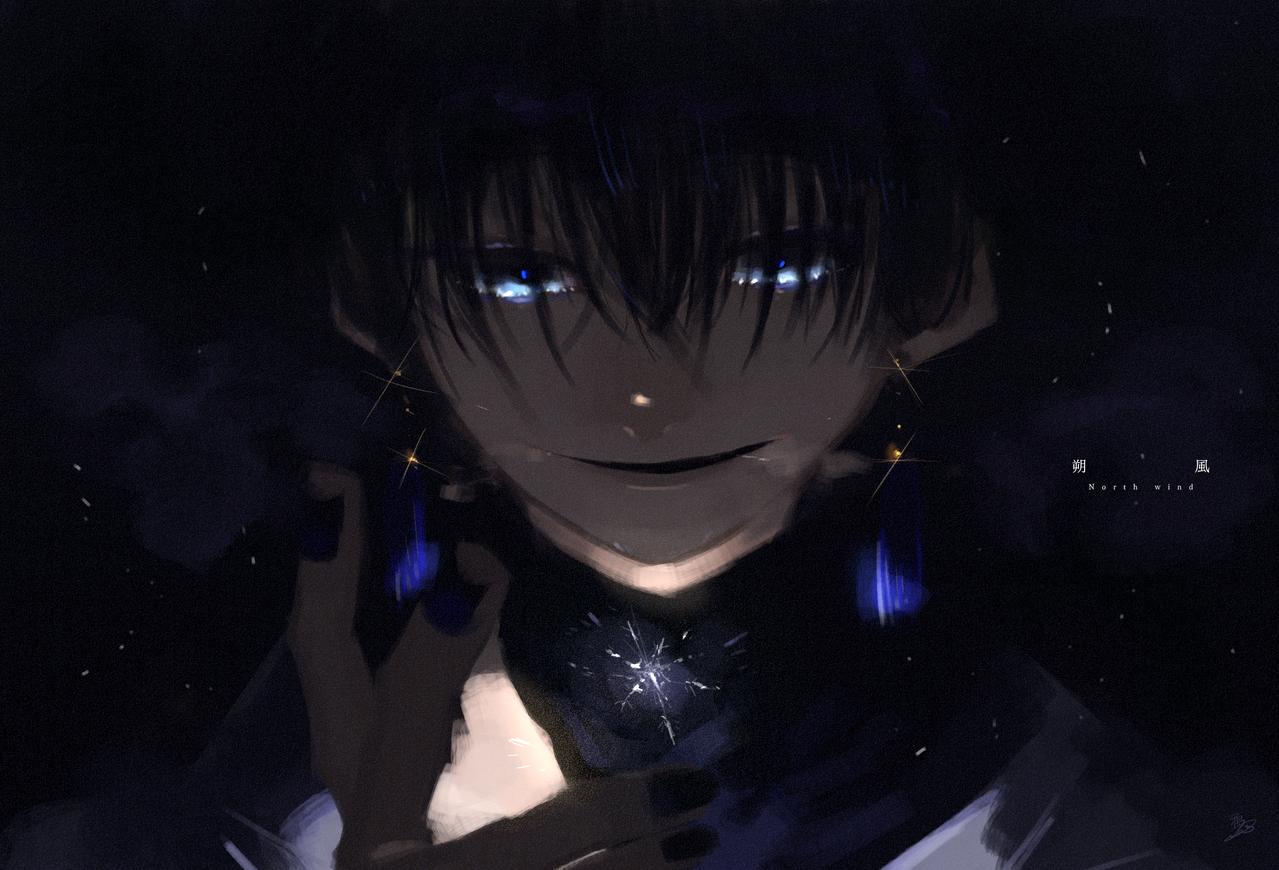 朔風吹く Illust of 鴉羽 凛燈 medibangpaint blue original