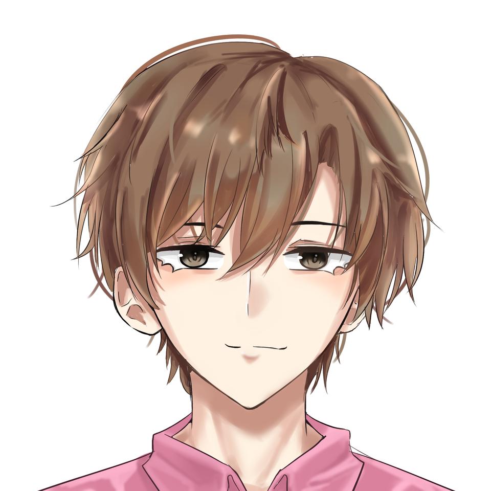 Sato san Illust of 褲褲 medibangpaint head IconCampaign illustration digitalpainting male pink illustrations medibang