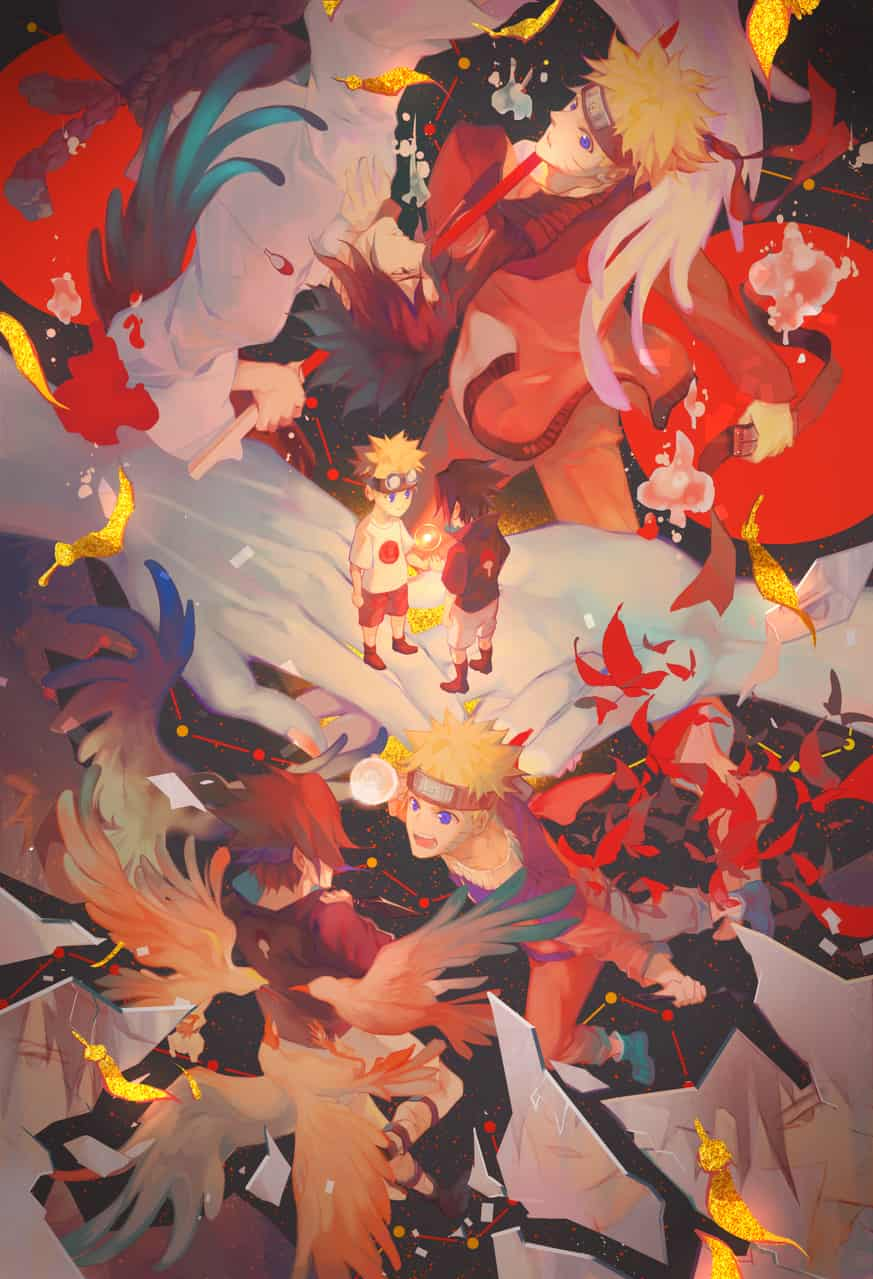 和解 Illust of Amico 1stjumpillust NARUTO ナルト