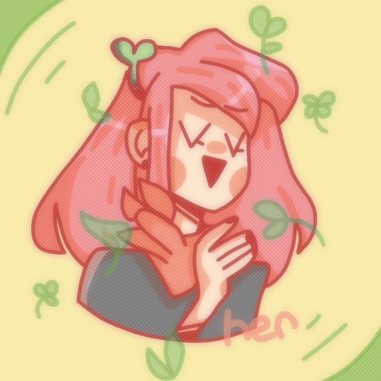 grass woman