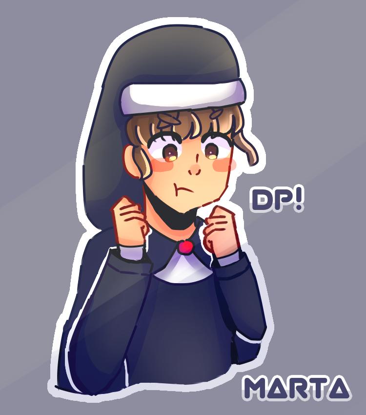 Marta OC Illust of Mfg53 Nun anime owo oc