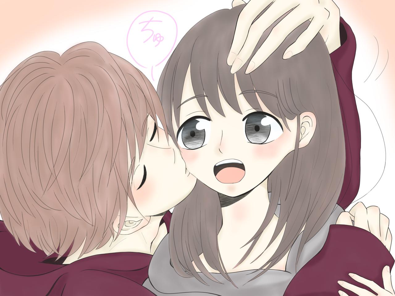好きだよ。 Illust of まこーた shoujo_illustration medibangpaint
