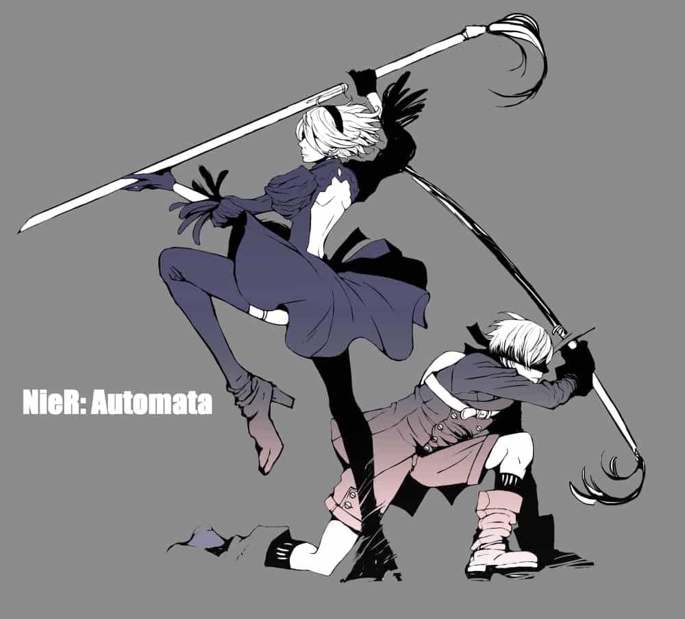 Illust of かな NieR:Automata