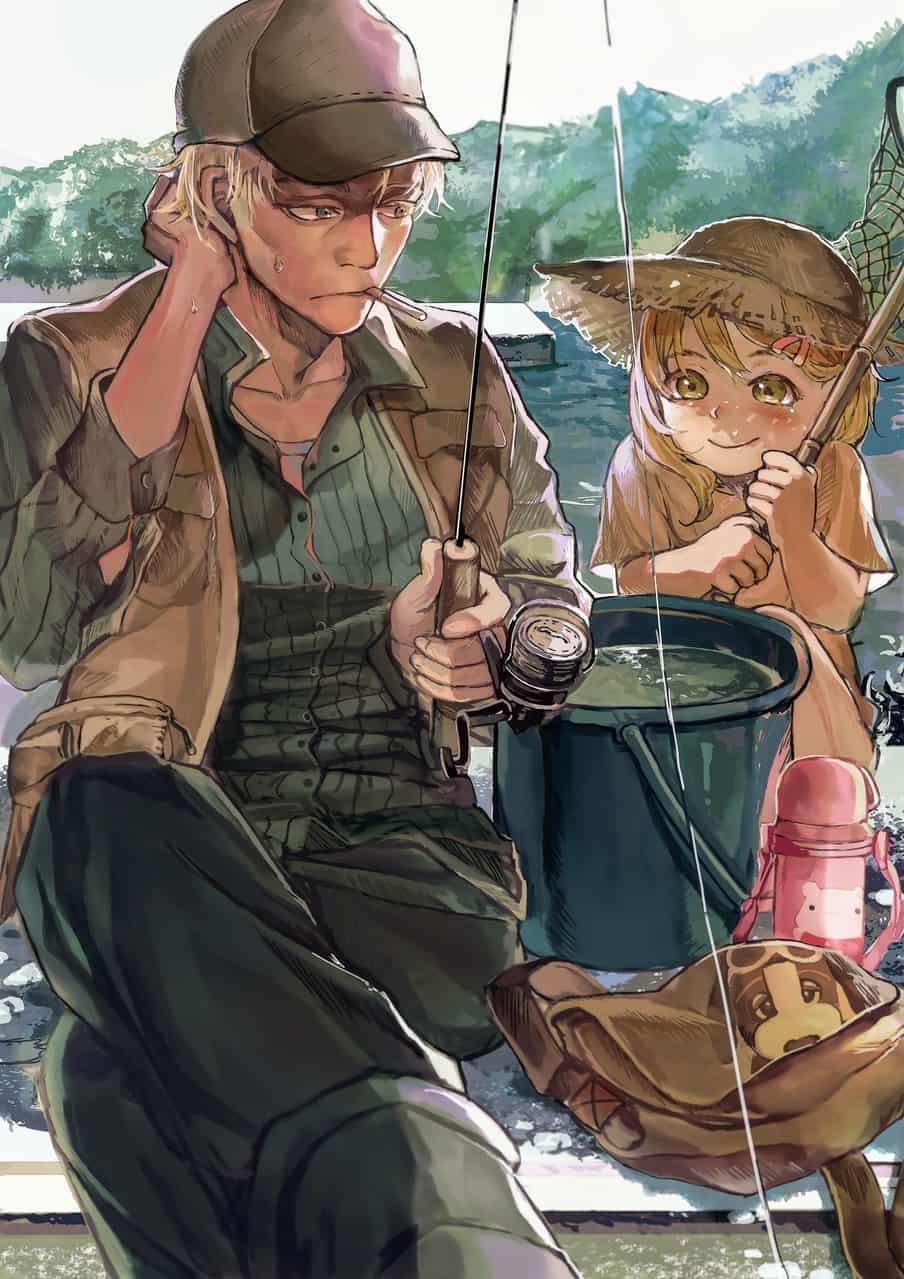 期待 Illust of 無味無常 おじさん girl summer