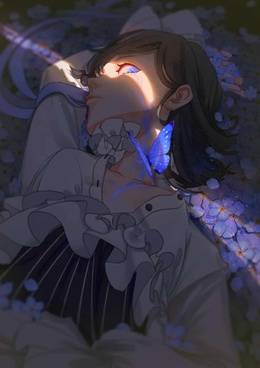 吸食 Illust of 阡夏 ARTstreet_Ranking original girl 自设 oc illustration 插画,原创 壁纸