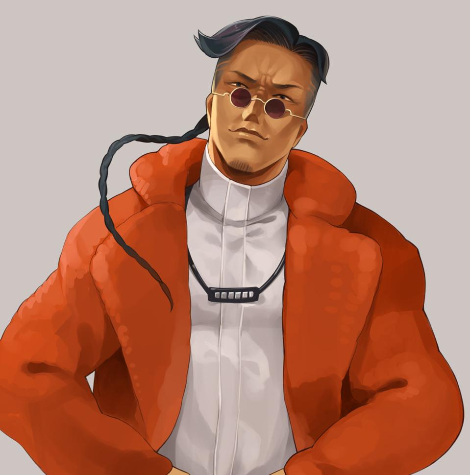 ヤンキーの兄ちゃん Illust of カイセイ ヤンキー 青年 original