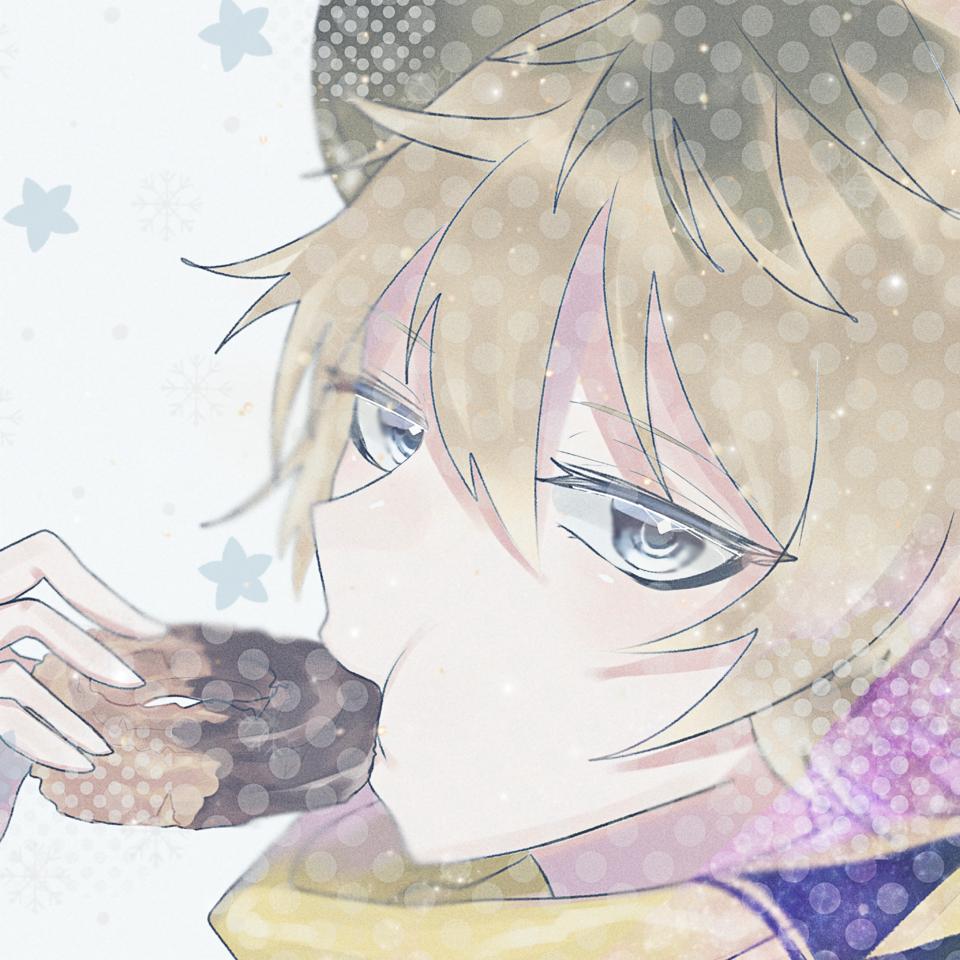 ラギー Illust of みつ Twisted-Wonderland kawaii RuggieBucchi donut