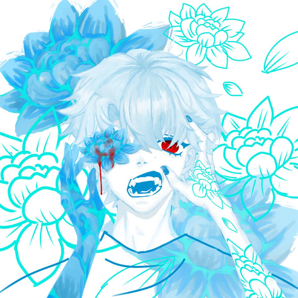 花 Illust of 拾弎 April2021_Flower