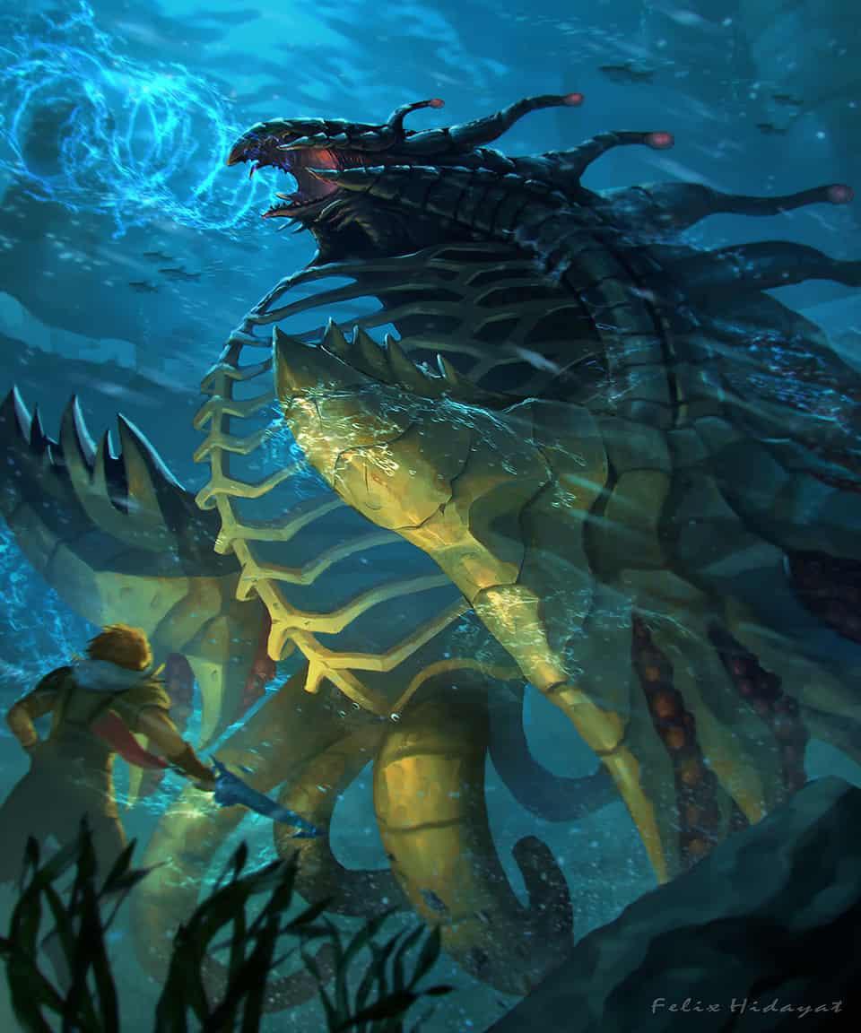 Geosgaeno Battle -Final Fantasy X-