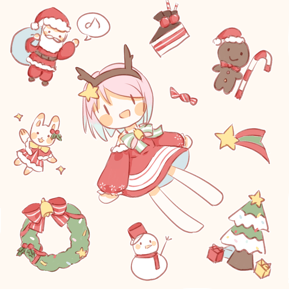 Marry Christmas><!!