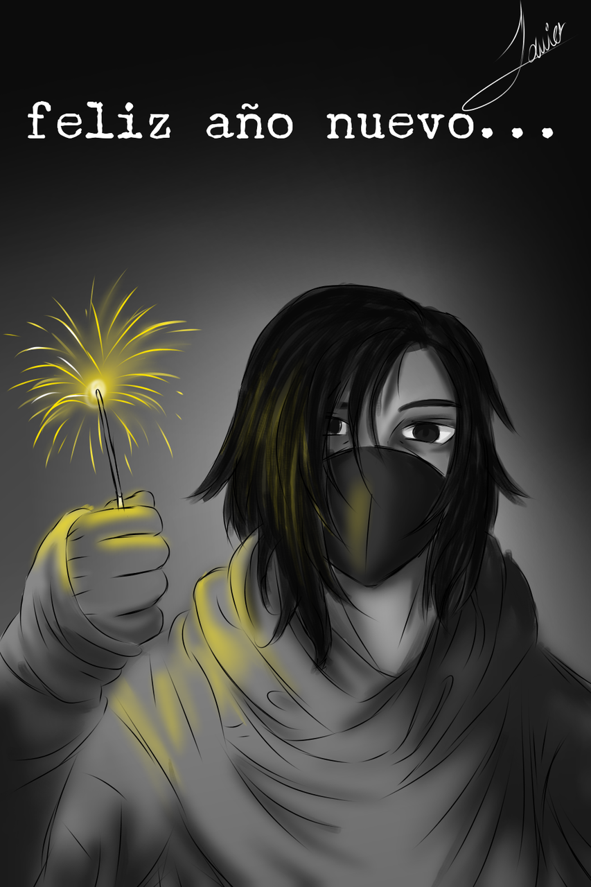 Feliz año nuevo artistas 🎉 Illust of Javiart_lopez medibangpaint