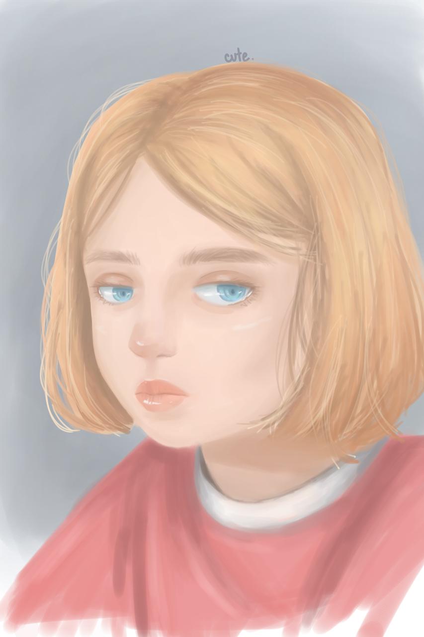 sketch ) Illust of cute medibangpaint