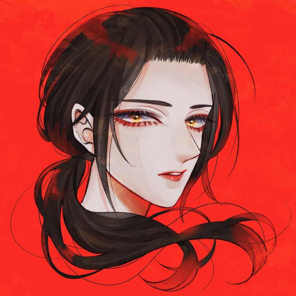 朱 Illust of まみや red APH