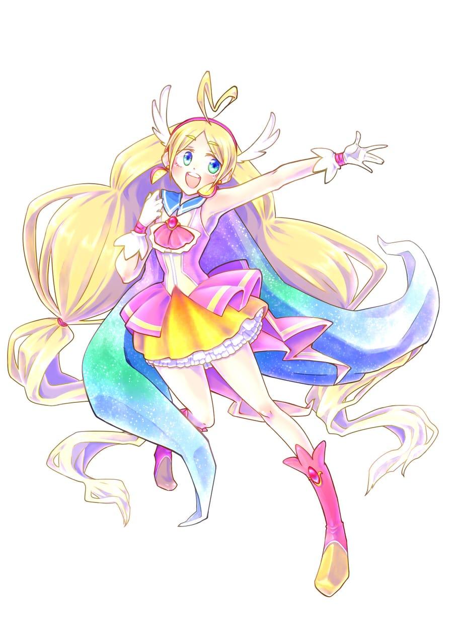 魔法少女 Illust of あ January2021_Contest:OC