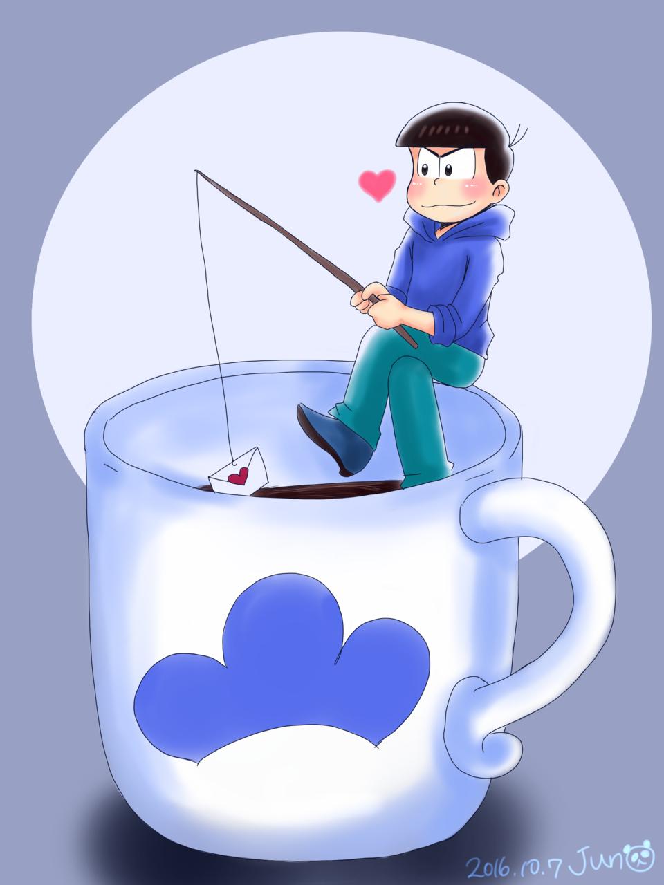 マグカップとカラ松リクエストイラスト Jun9999 Illustrations