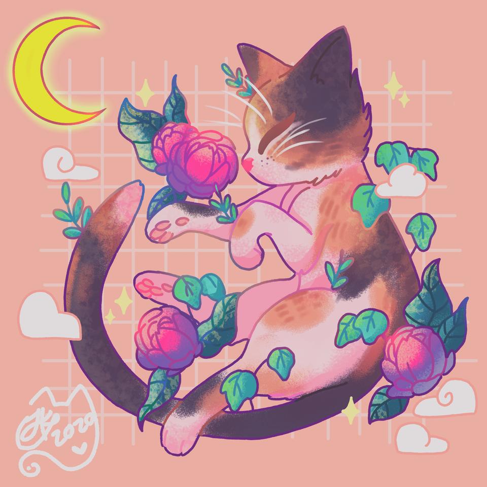Misty 💕 Illust of Fixparty _ Art medibangpaint cat