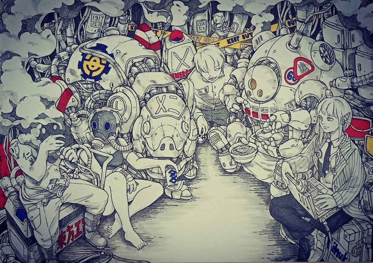 六都集會 Illust of areuund MySecretSocietyContest