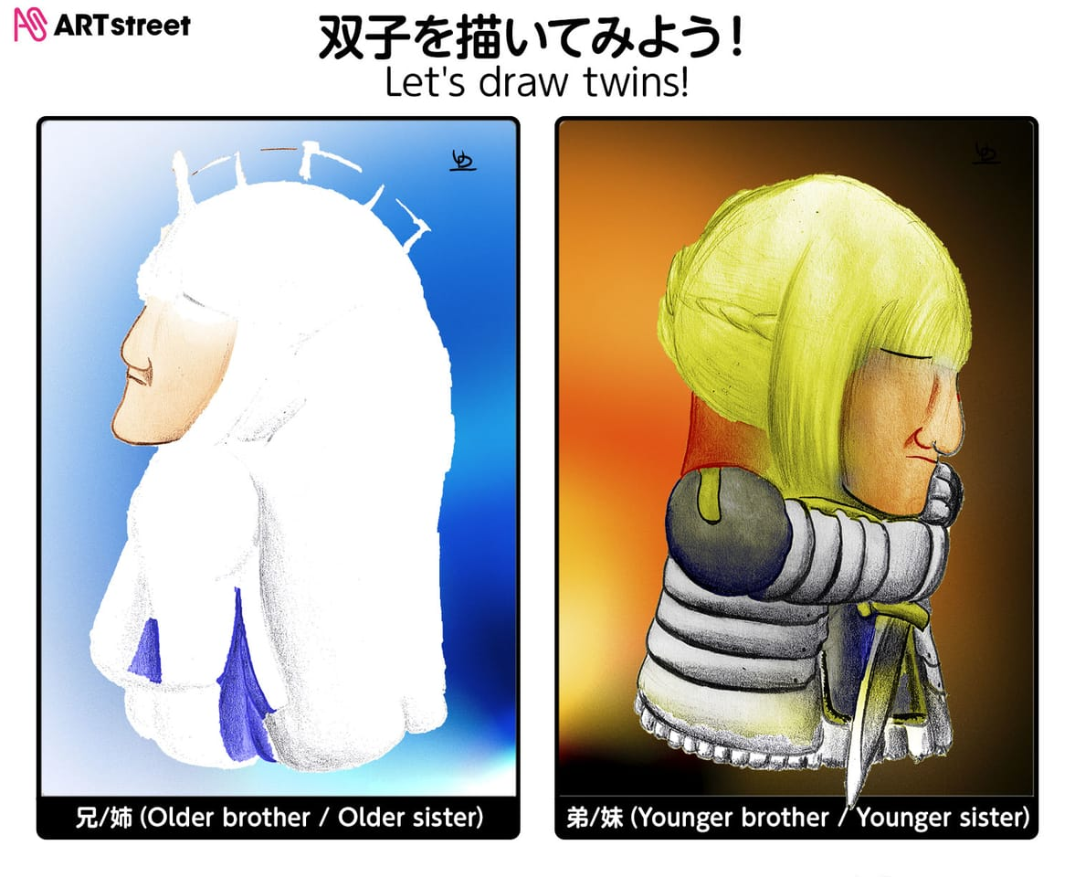 Morgana & Arturia Illust of Underdragon September2021_Girl woman sideface witch Fate fairy iChallenge girl waifu Fate/GrandOrder cosplay saber