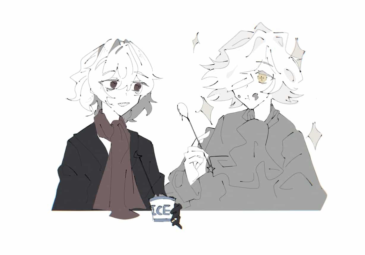 """""""是咖啡味的冰激凌"""""""