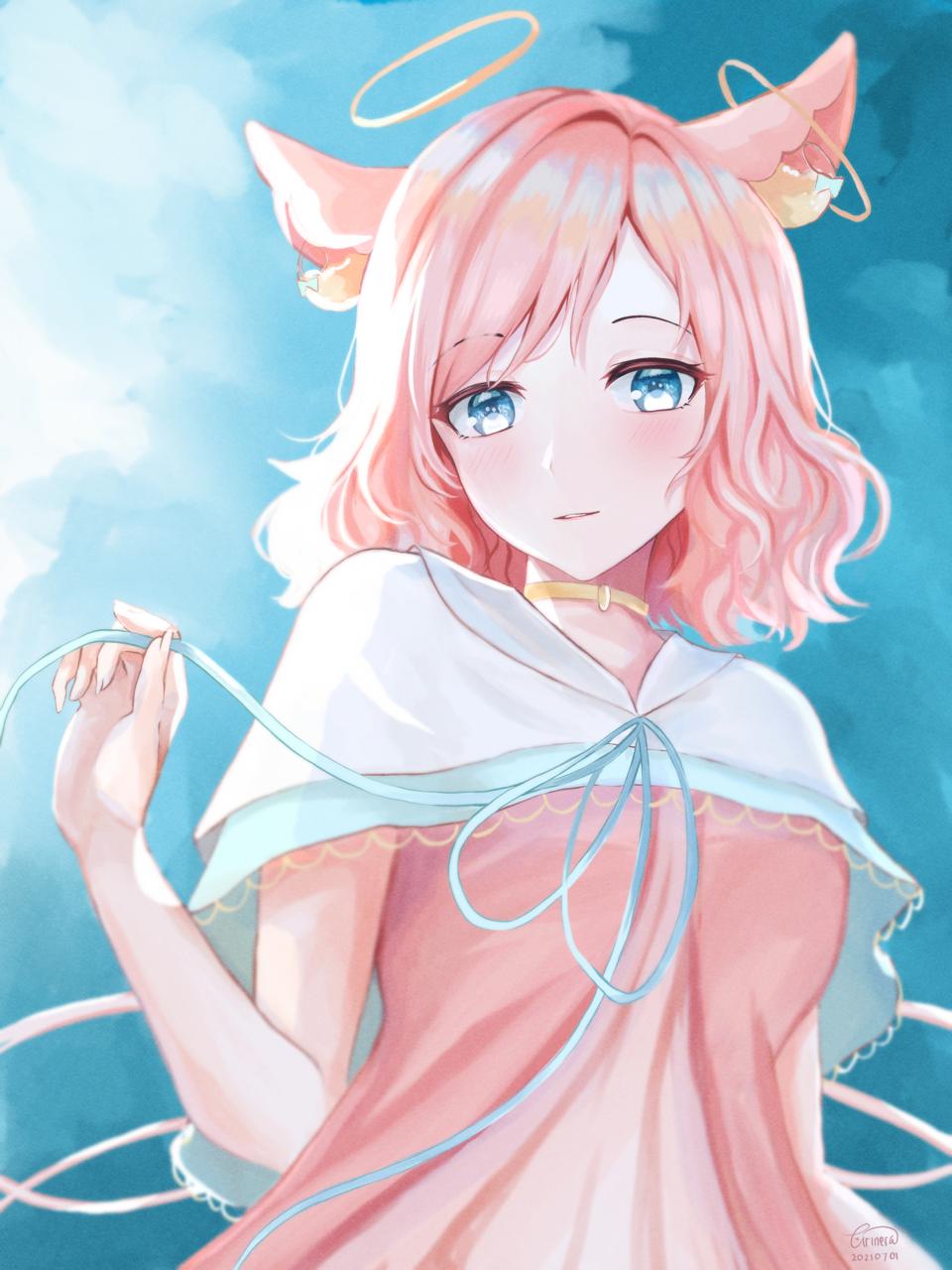 [DTIYS] Sjaoart Illust of arinera skirt medibangpaint art animeart girl animestyle digital cute dtiys illustration digitalpainting