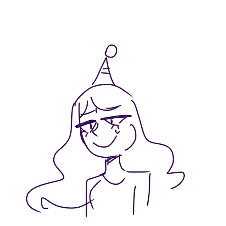 well, it's my birthday wowie