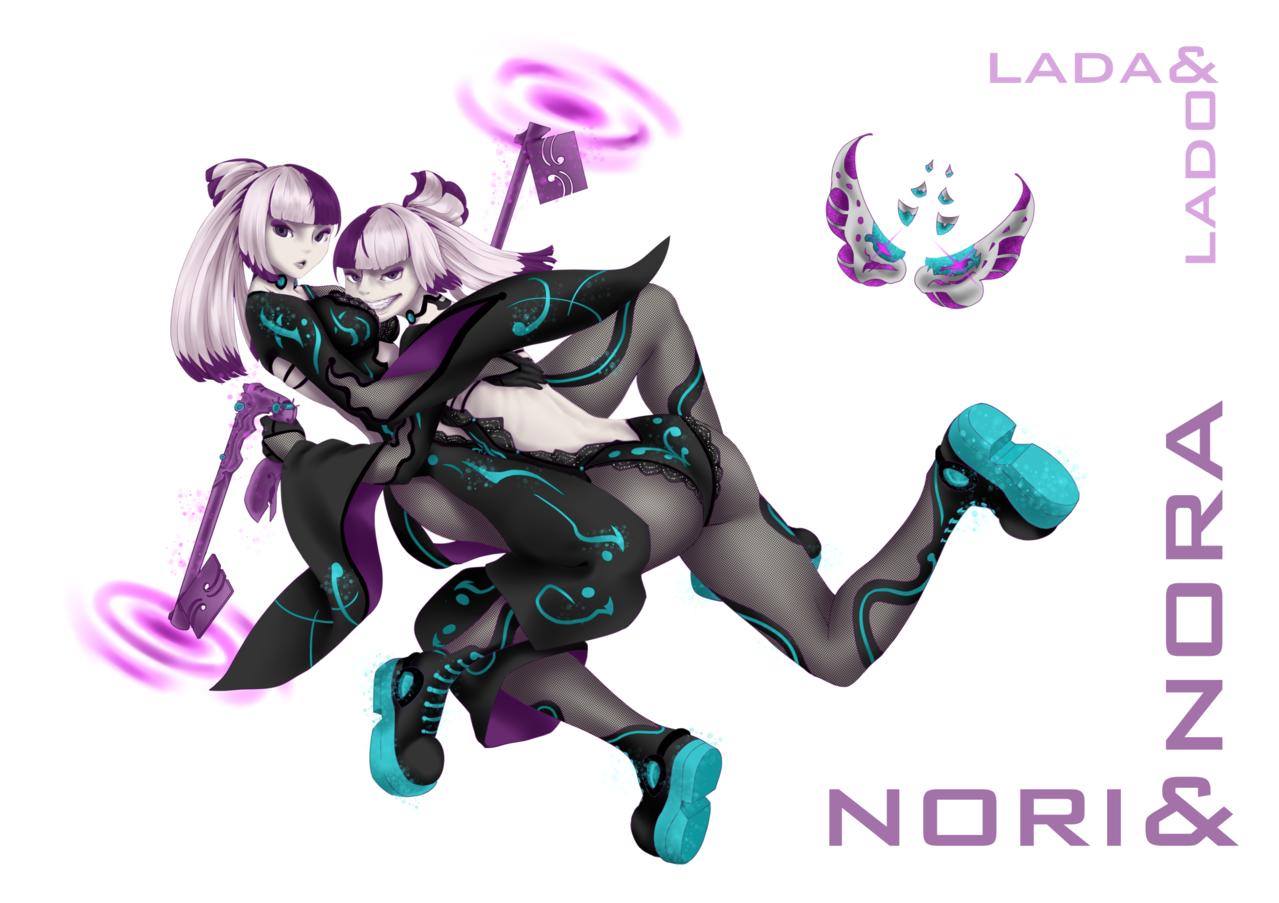 NEOmirai/ネオ未来/Hikariko<>Nori and Nora