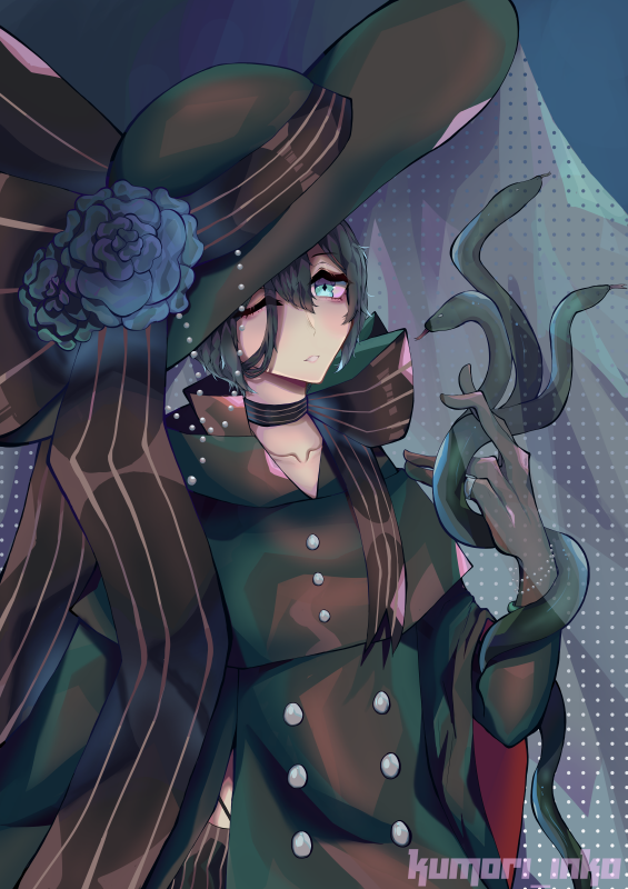 Lucian fanart of Kamochiruu's OC