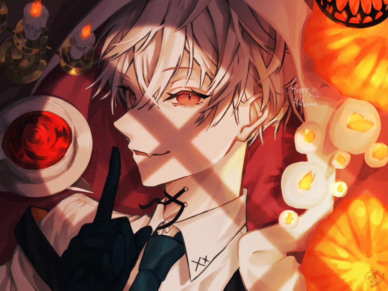 🎃 Happy Halloween 🦇 Illust of 鷽 Halloween original boy
