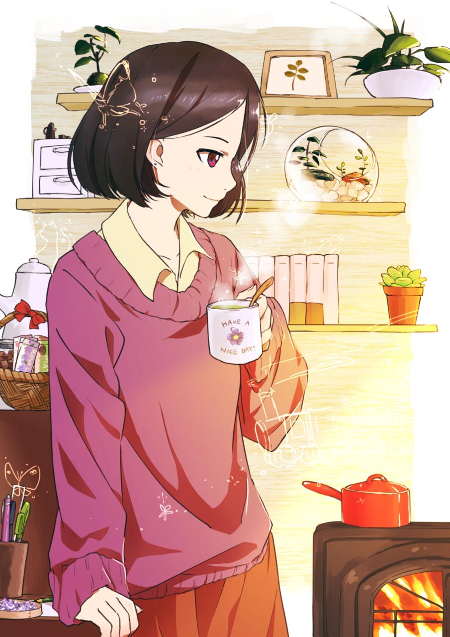 少女にもどる時間 Illust of トウィン-ミックス girl original