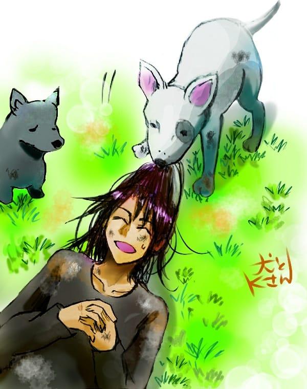 ワンドロ【犬】 Illust of どべび original dog oc ワンドロ レッツワンドロ