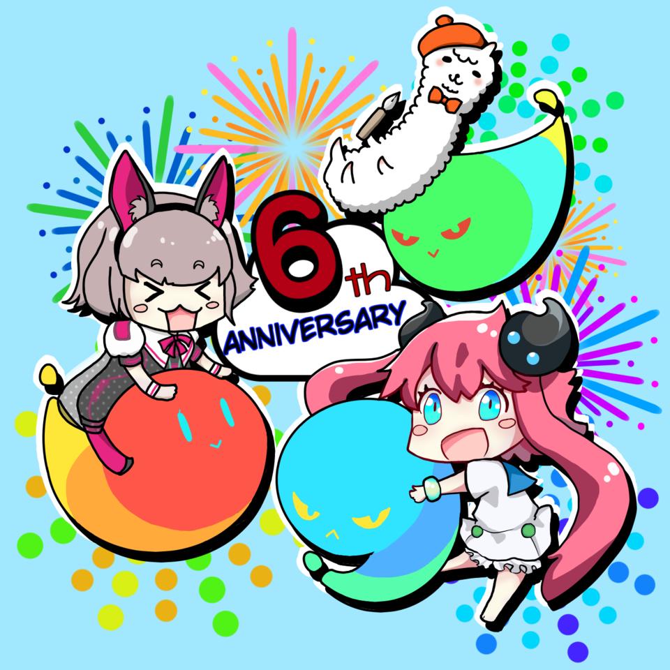 メディバン6th Anniversary! Illust of ぽぽうどん MediBang_General_Election General_Election_Medi-chan メディバンペイント カラフル chibi