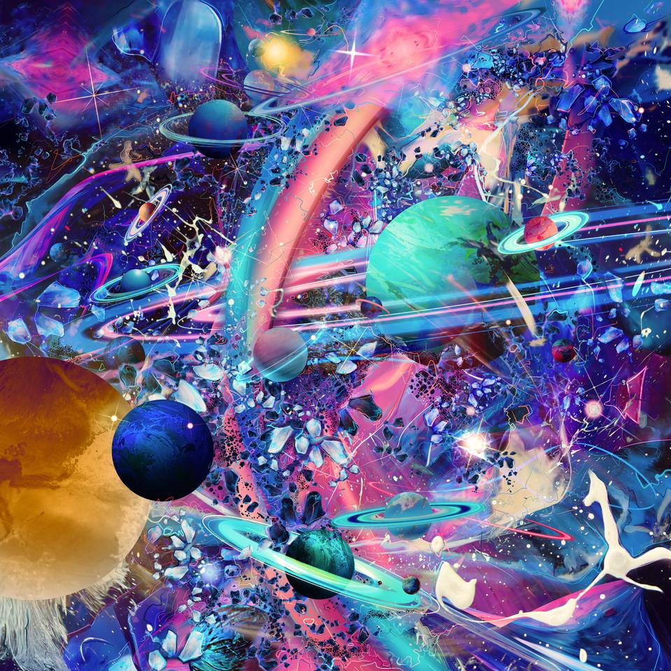 Color Universe Illust of ARTIVAN April.2020Contest:Color galaxy space artivan details universe color splash