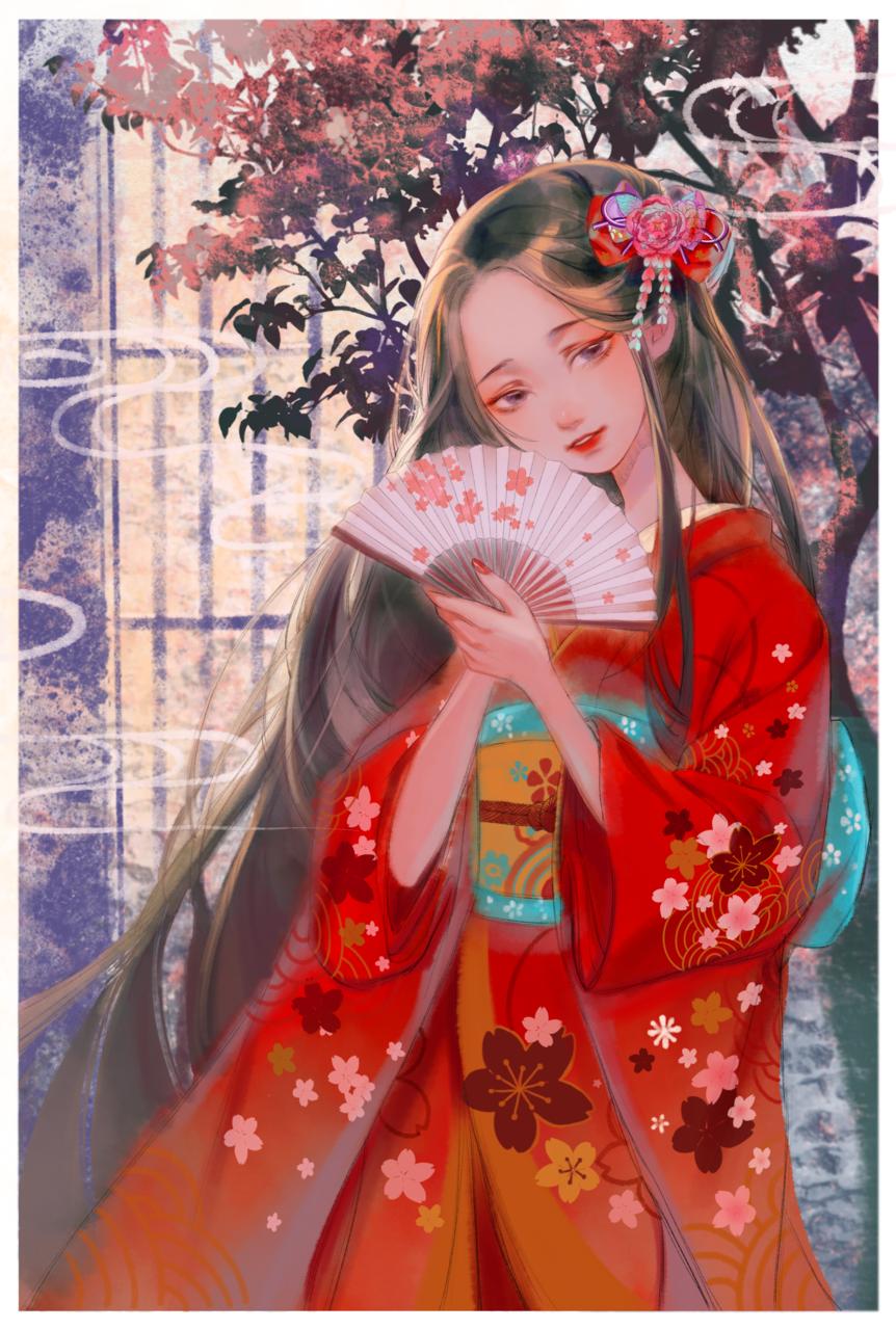 红色 Illust of 一口酉 Kyoto_Award2020_illustration