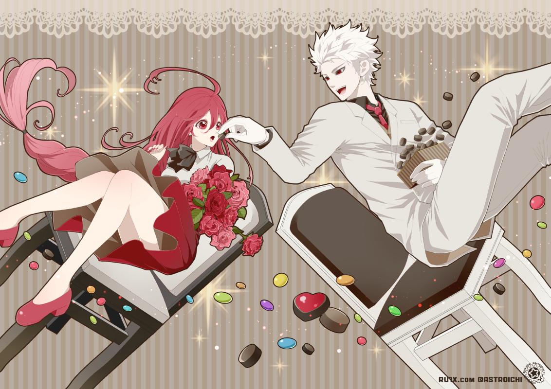 You are my Valentine. Illust of 鈴木イチ Valentine チョコレート original