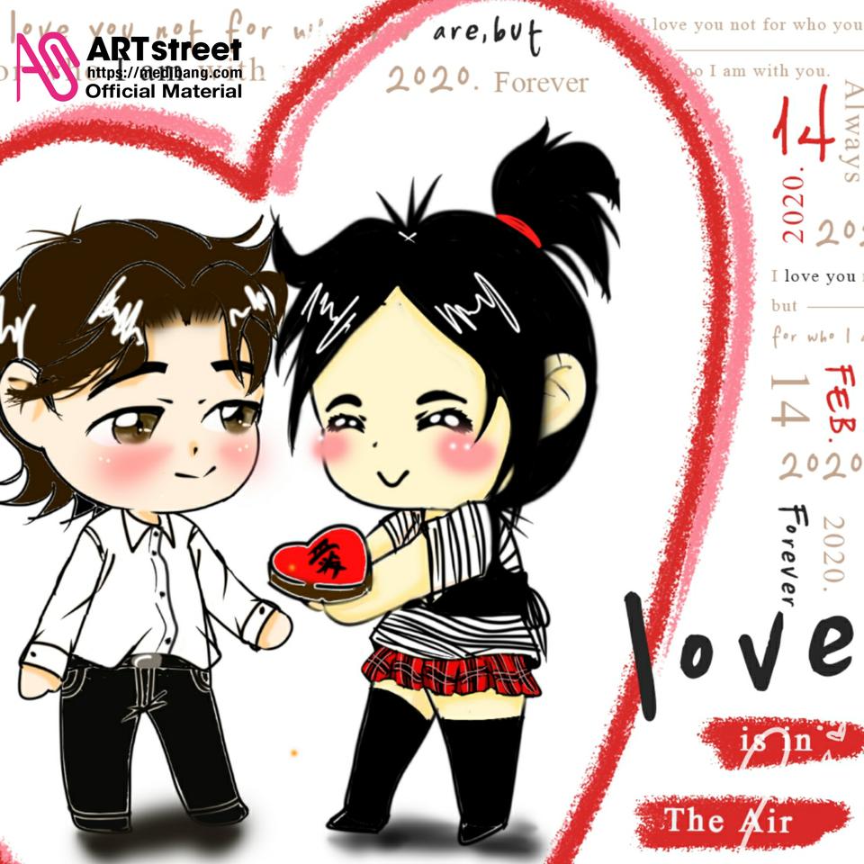 Love in air Illust of Yukie Oli tracedrawing Trace&Draw【Official】 Concurso drawing dibujo: de y Dibujar! ¡Calcar