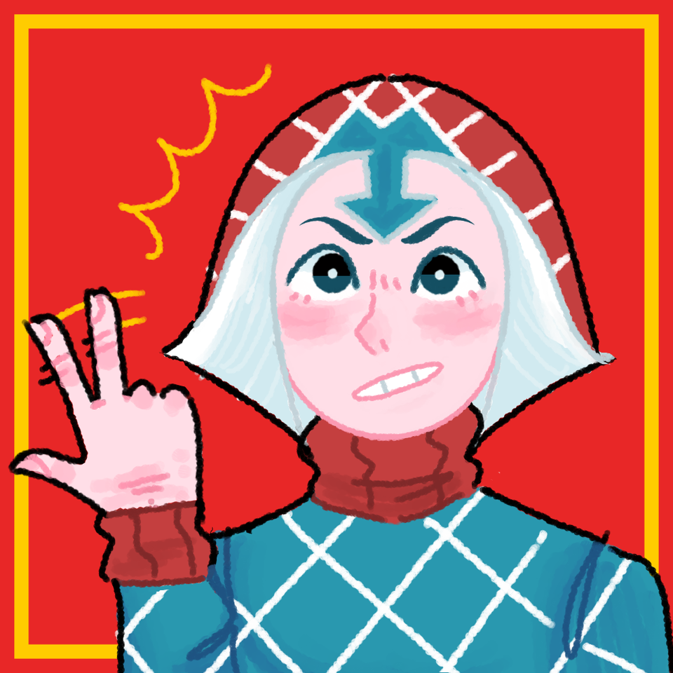 mista icon 2 Illust of Conzueh medibangpaint GuidoMista JOJO'S_BIZARRE_ADVENTURE