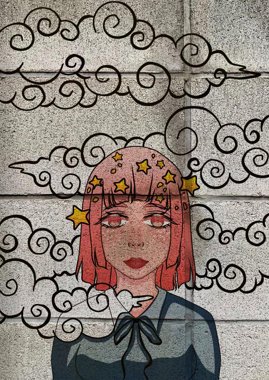 Above all, elegance (Avant tout, l'élégance)  Illust of Missleil June2020_Contest:Street_Art original girl medibangpaint anime oc
