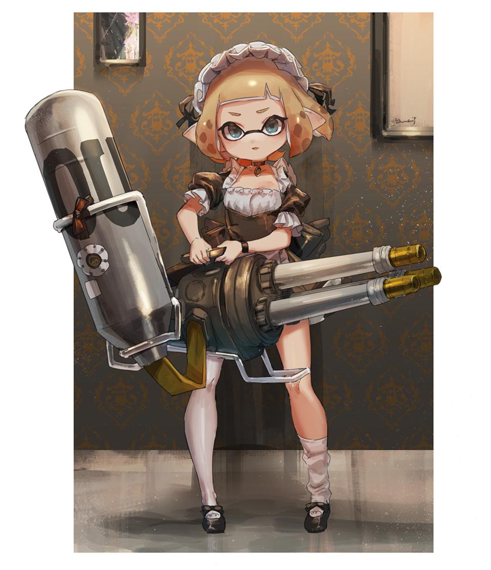 splatoon Illust of yu-ri イカ Splatoon