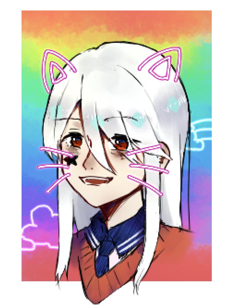 猫猫 Illust of 鸦青 medibangpaint oc cat_ears 原创角色